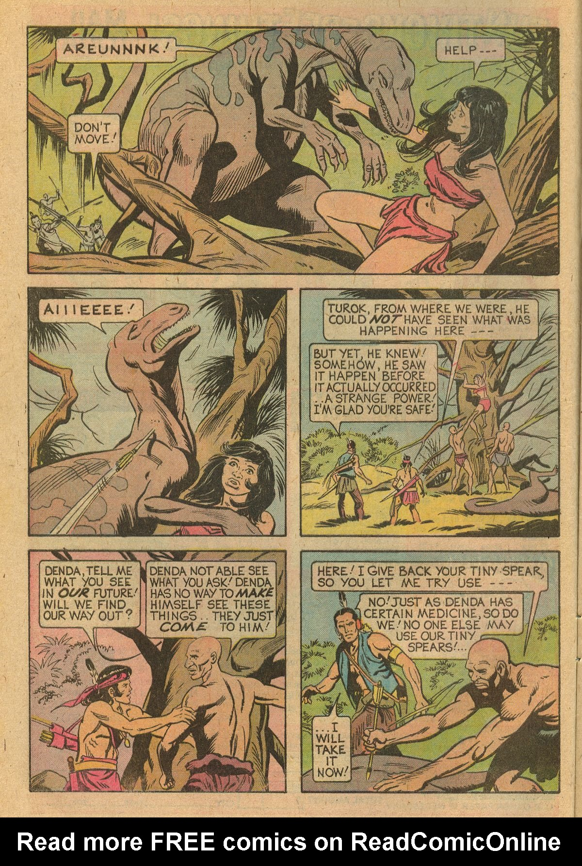 Read online Turok, Son of Stone comic -  Issue #105 - 8