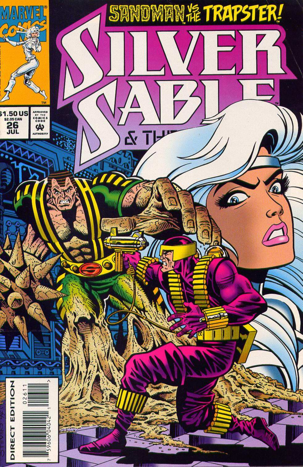 Read online Silver Sable and the Wild Pack comic -  Issue #26 - 1