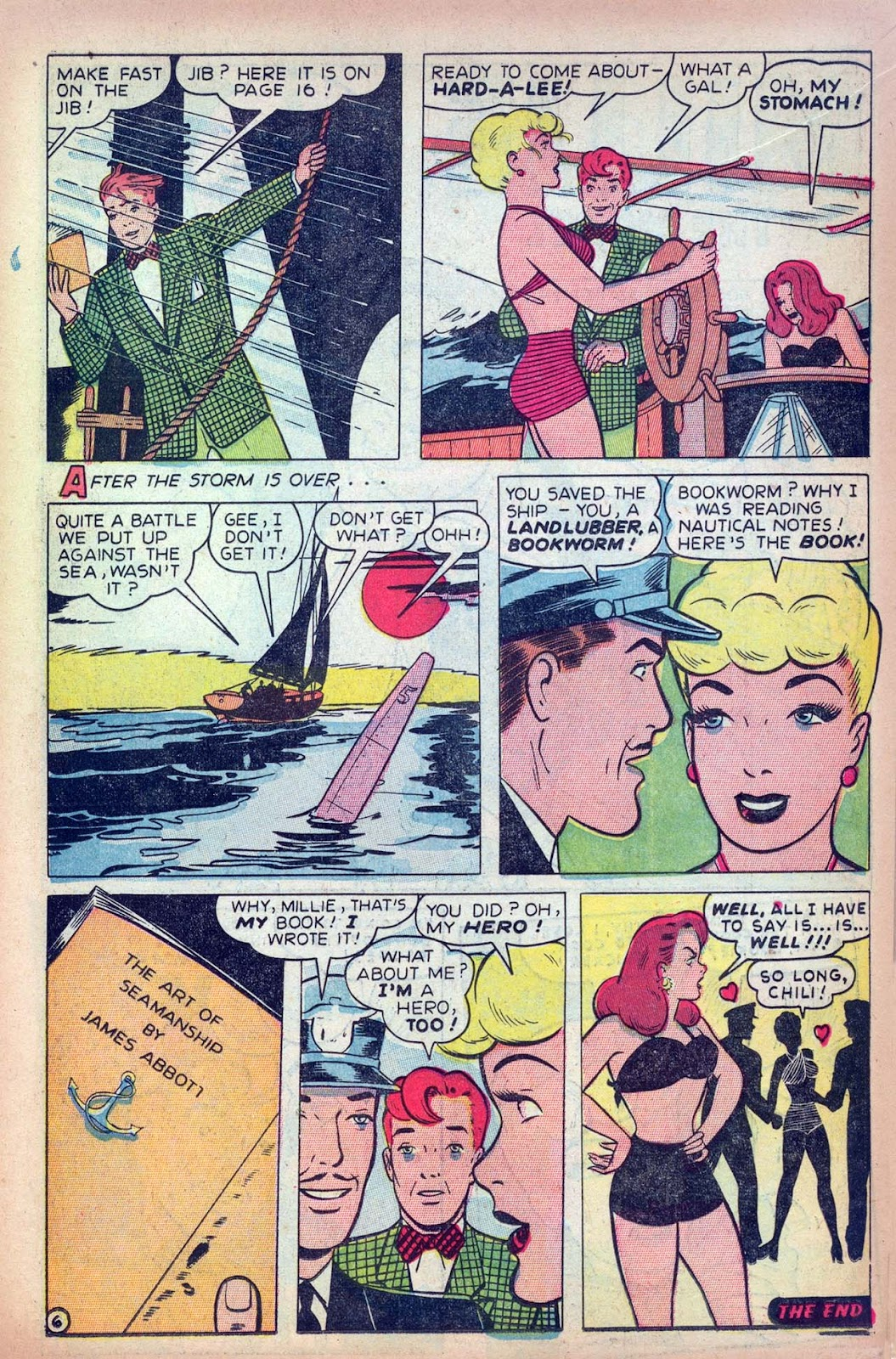 Read online Millie the Model comic -  Issue #13 - 15