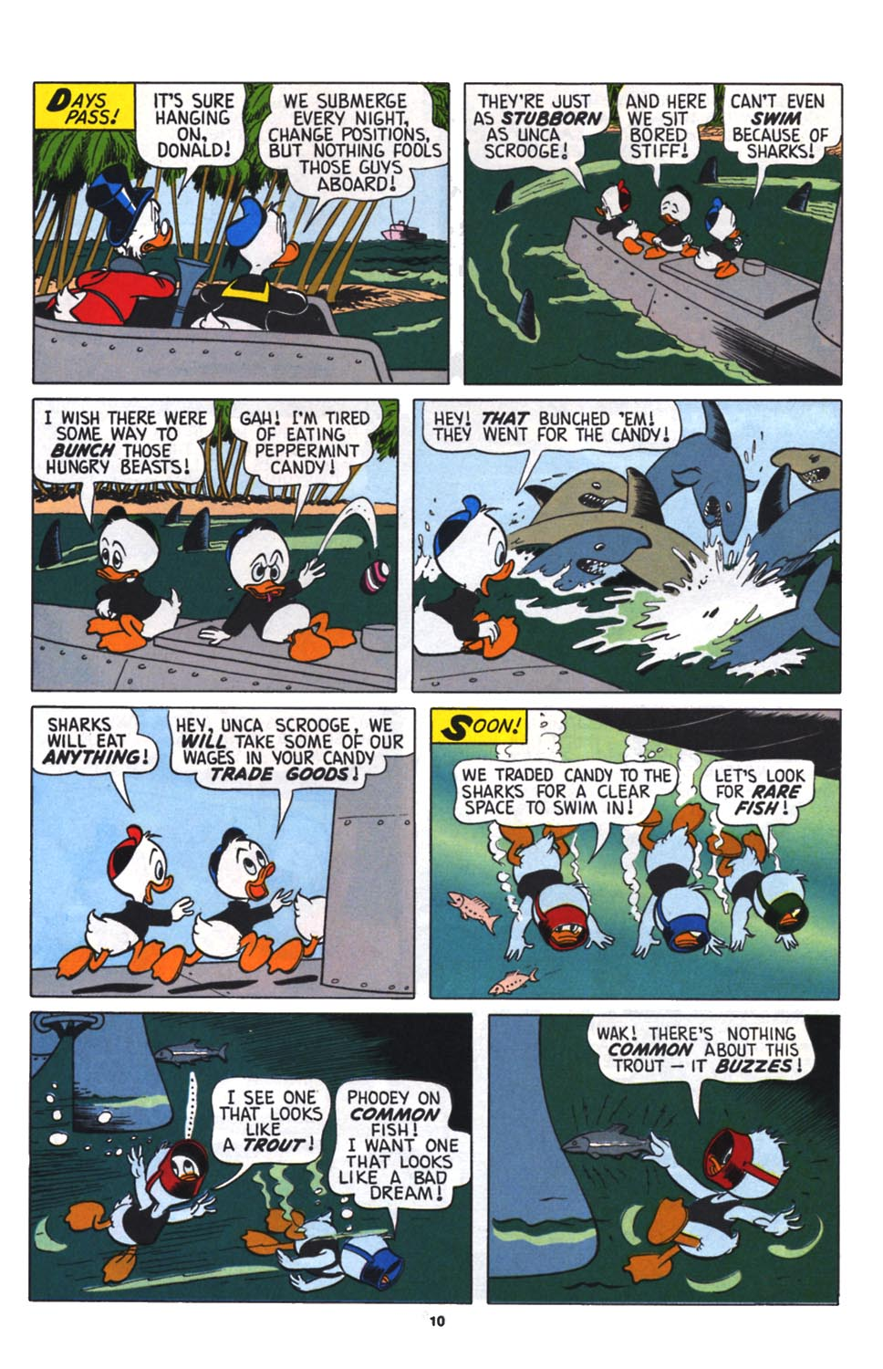 Read online Uncle Scrooge (1953) comic -  Issue #256 - 11