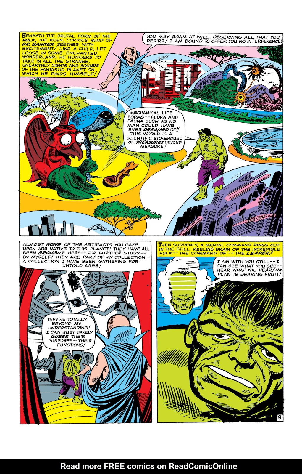 Read online Marvel Masterworks: The Incredible Hulk comic -  Issue # TPB 2 (Part 2) - 76