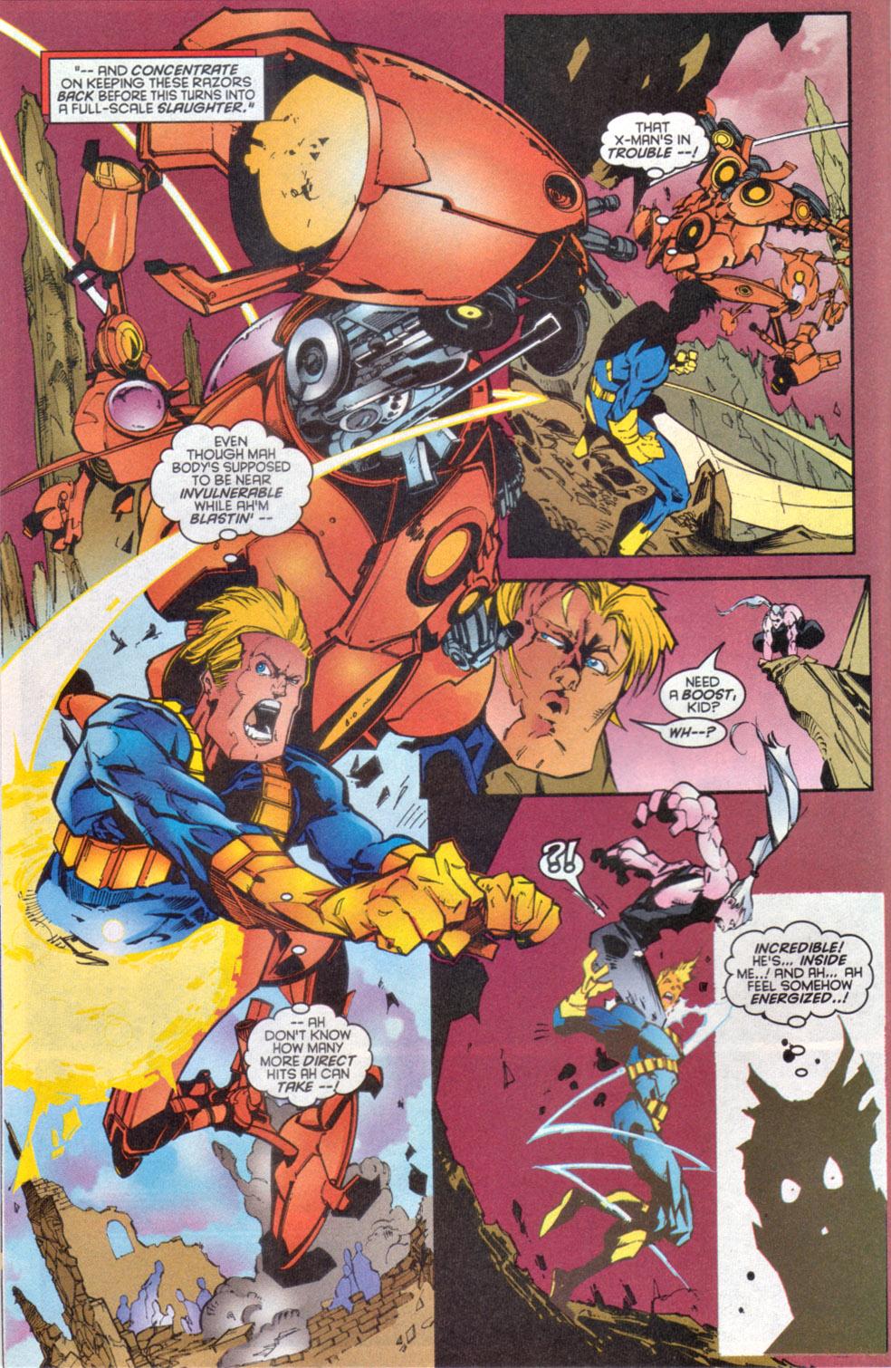 Read online Uncanny X-Men (1963) comic -  Issue # _Annual 1997 - 5