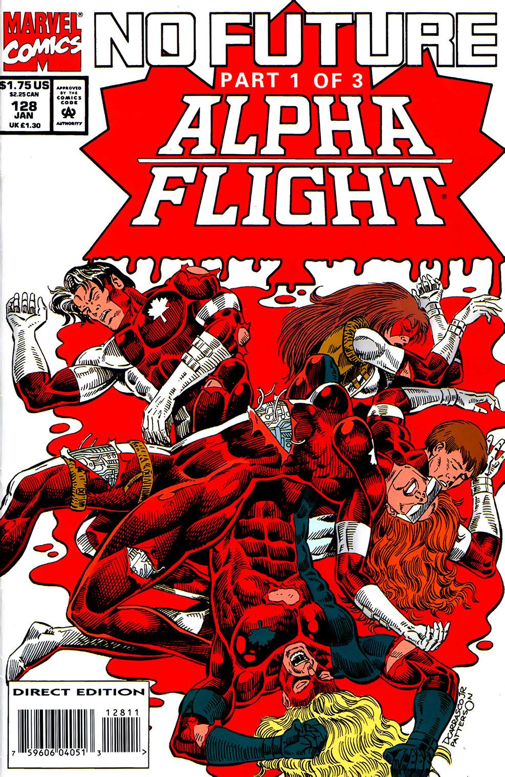 Alpha Flight (1983) 128 Page 1