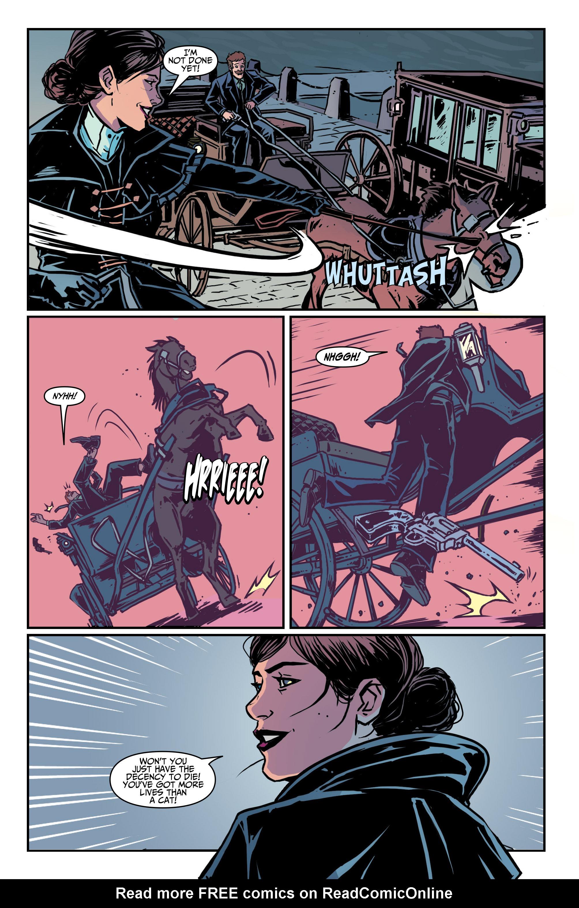 Read online Assassin's Creed: Locus comic -  Issue #4 - 8
