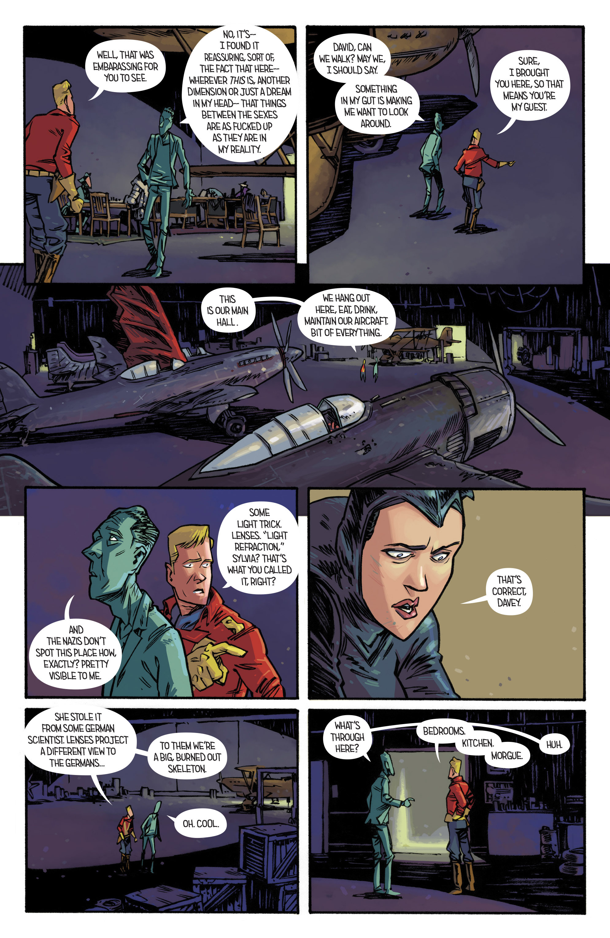 Read online Airboy comic -  Issue #3 - 14