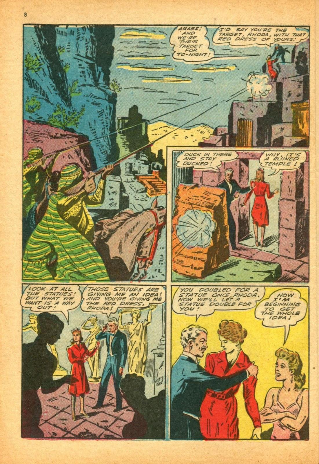 Read online Super-Magician Comics comic -  Issue #12 - 8