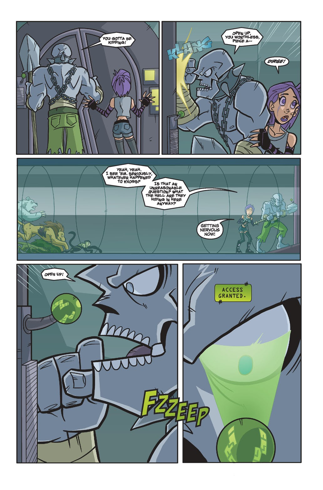 Read online Xombie Reanimated comic -  Issue #4 - 6