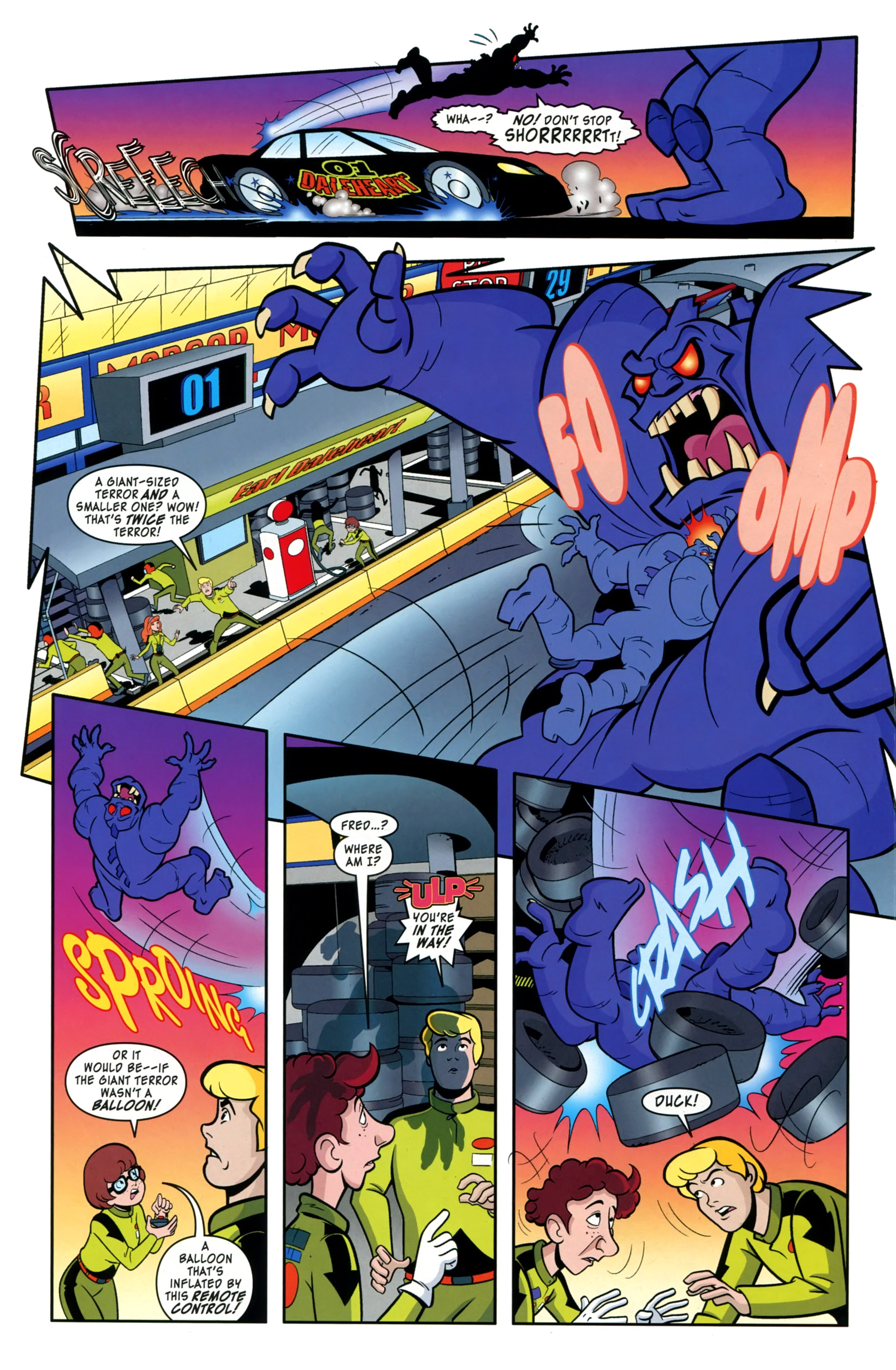 Read online Scooby-Doo: Where Are You? comic -  Issue #36 - 12