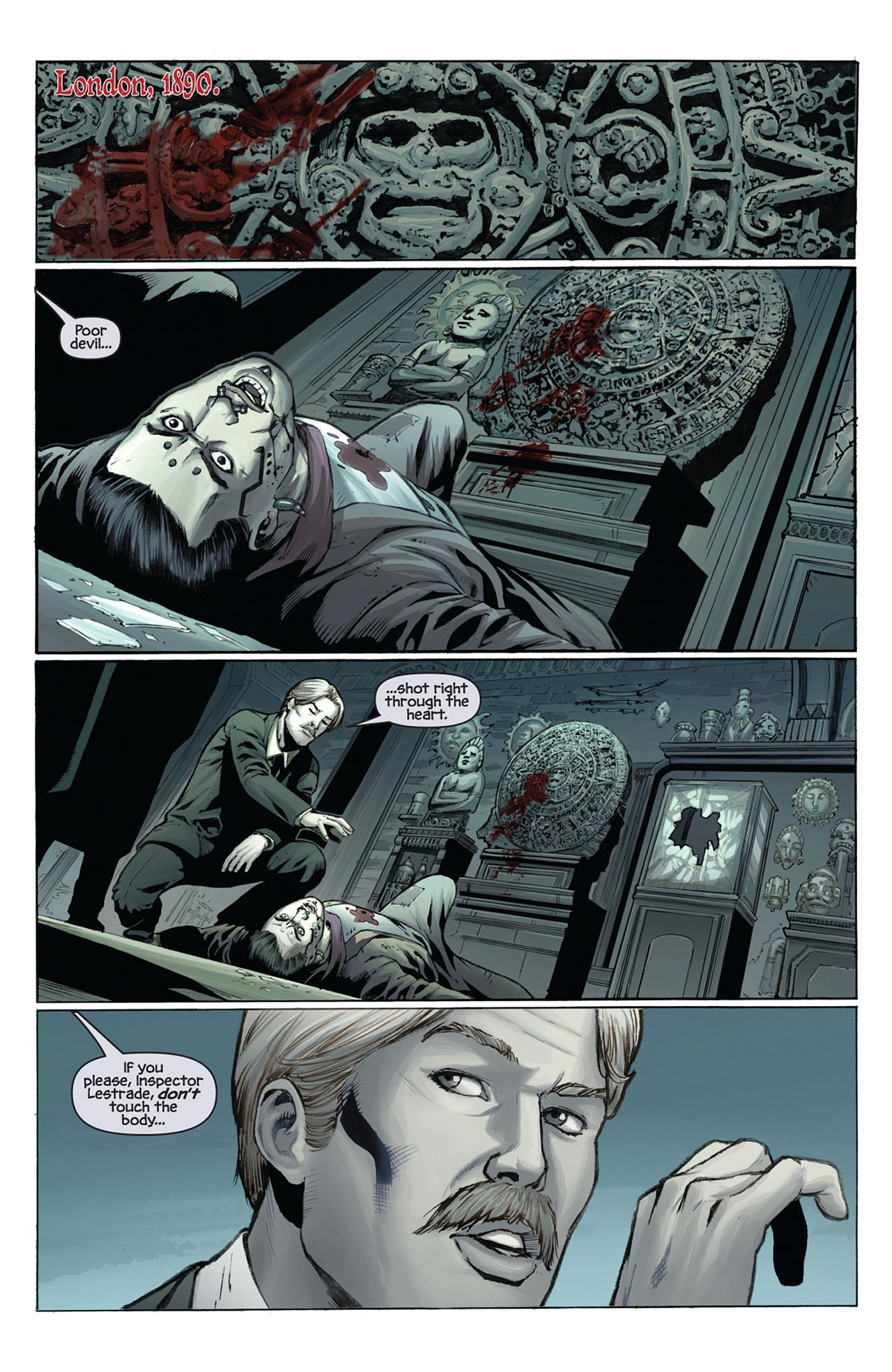 Read online Prophecy comic -  Issue #1 - 3