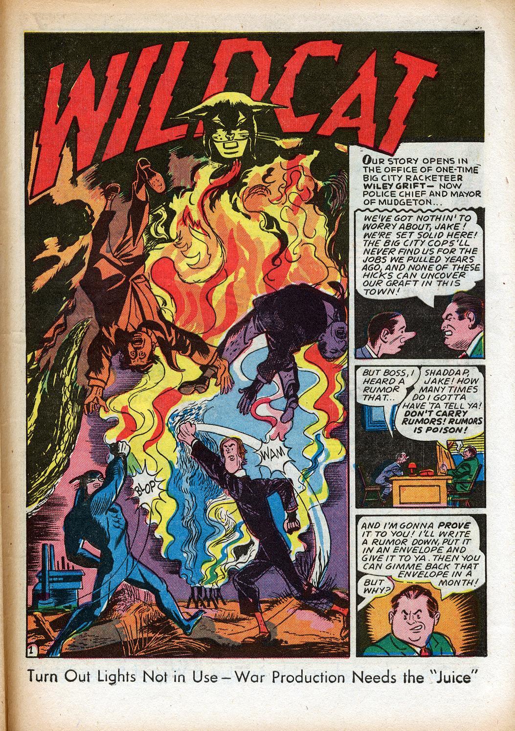 Read online Sensation (Mystery) Comics comic -  Issue #33 - 41