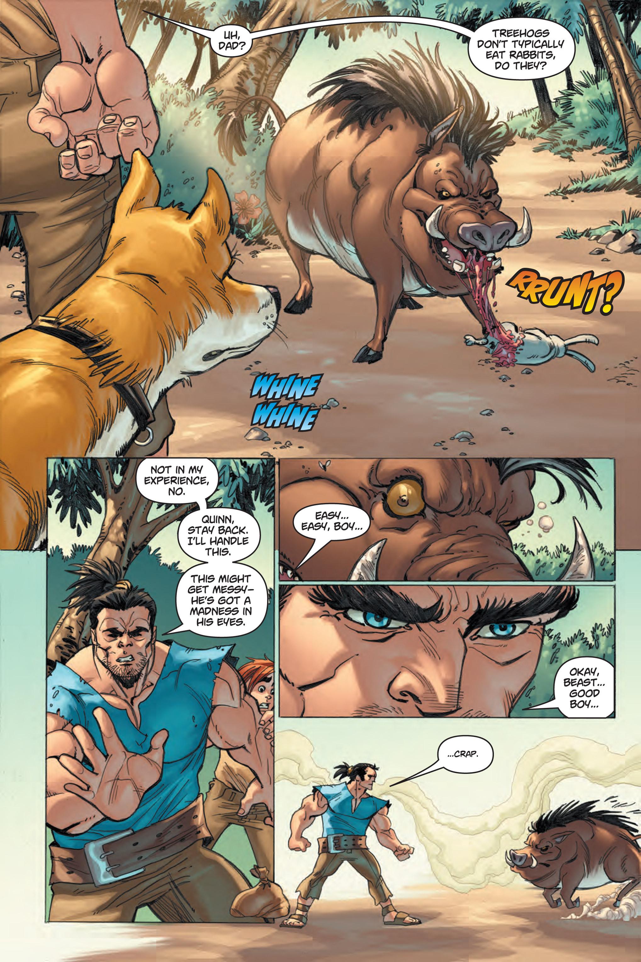 Read online Skyward comic -  Issue #1 - 8