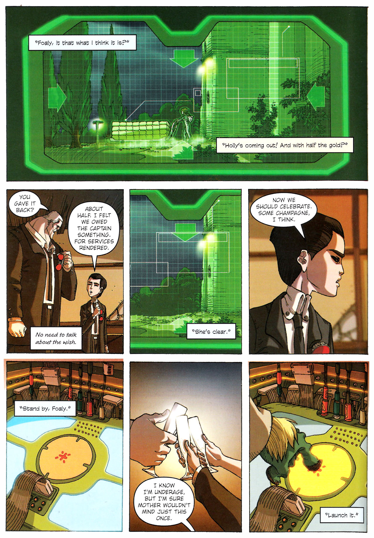Read online Artemis Fowl comic -  Issue #Artemis Fowl TPB - 105