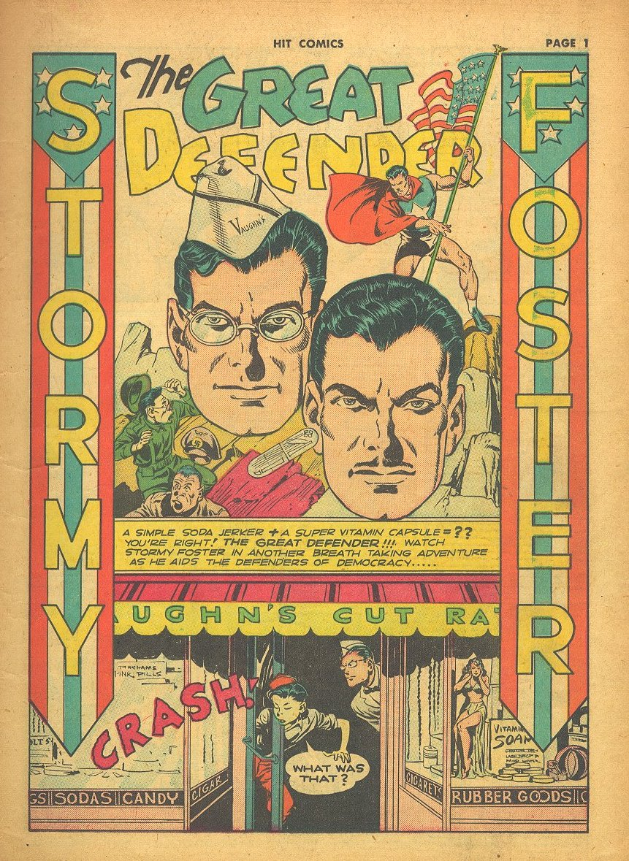 Read online Hit Comics comic -  Issue #24 - 3