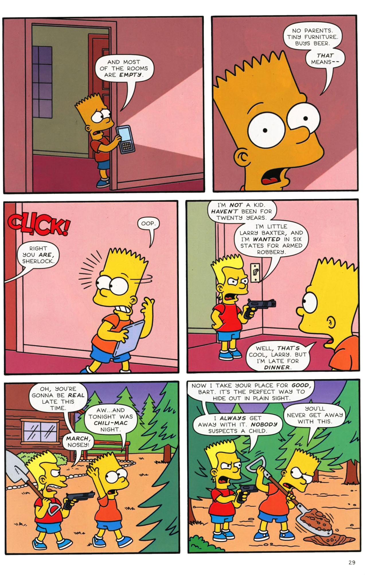 Read online Simpsons Comics comic -  Issue #169 - 23