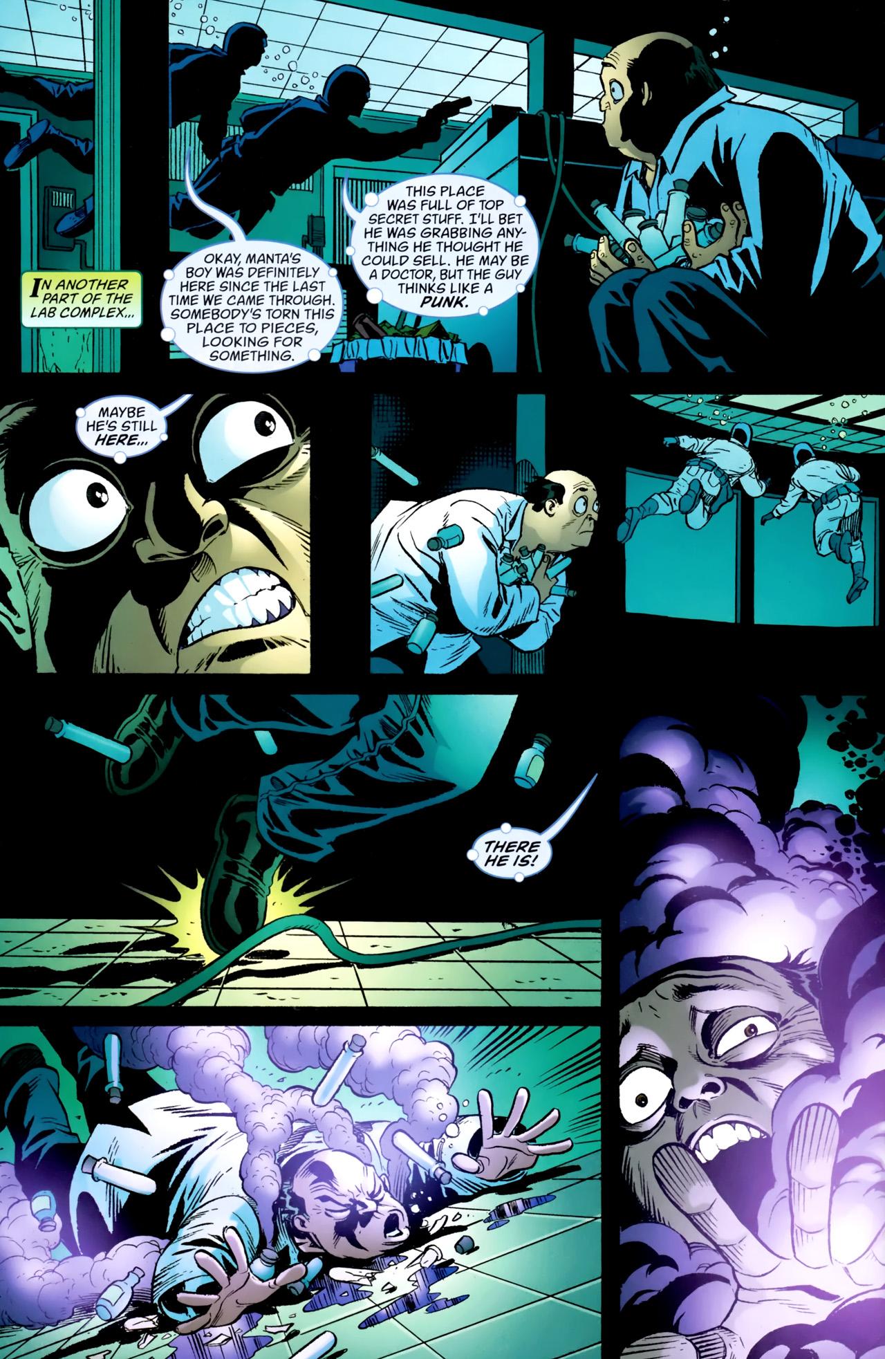 Read online Aquaman: Sword of Atlantis comic -  Issue #54 - 5