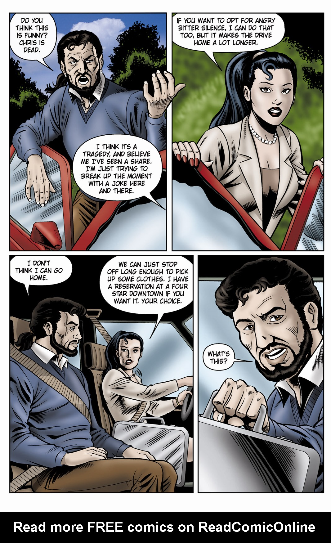 Read online SideChicks comic -  Issue #4 - 37
