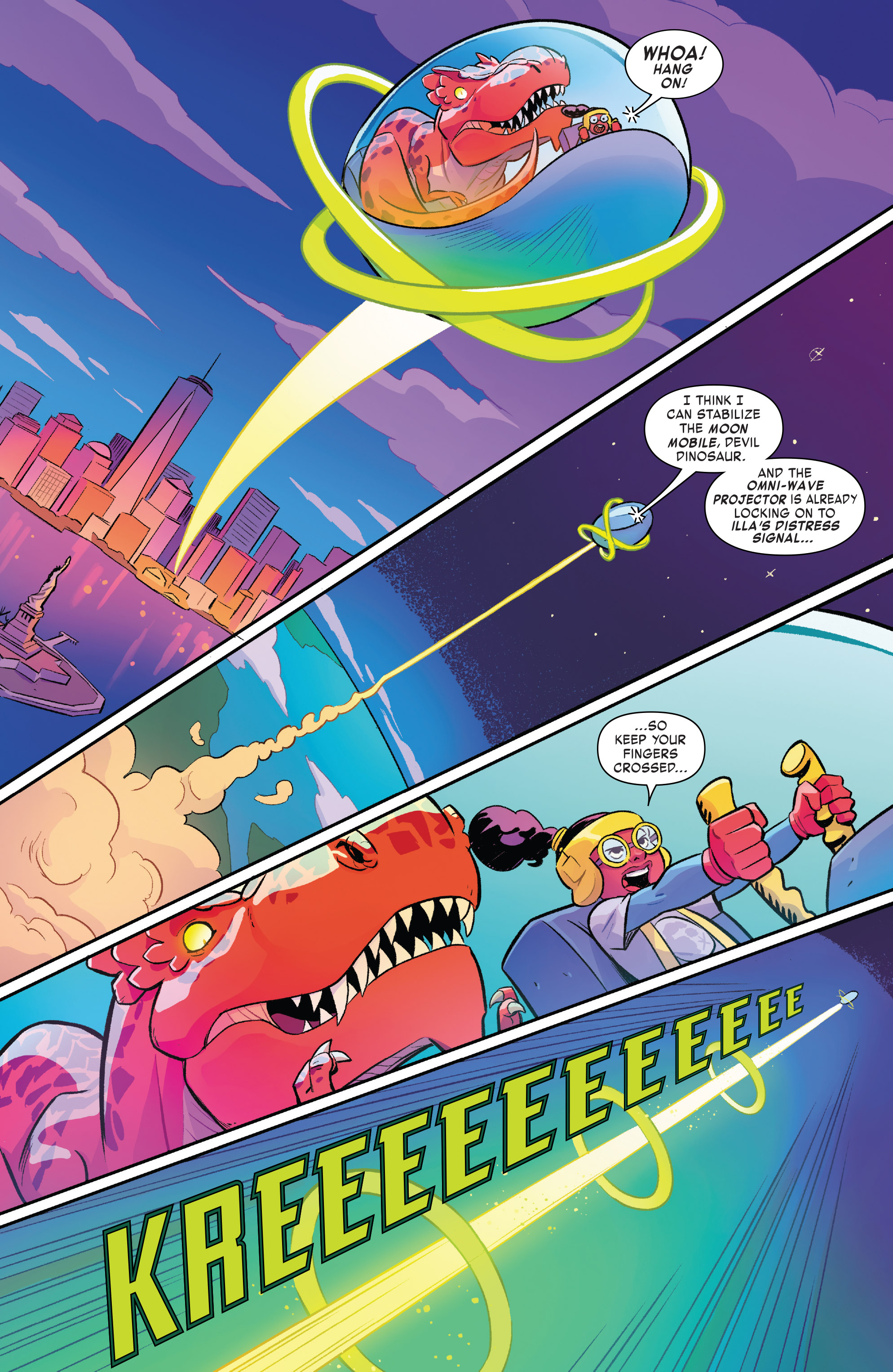 Read online Moon Girl And Devil Dinosaur comic -  Issue #19 - 16