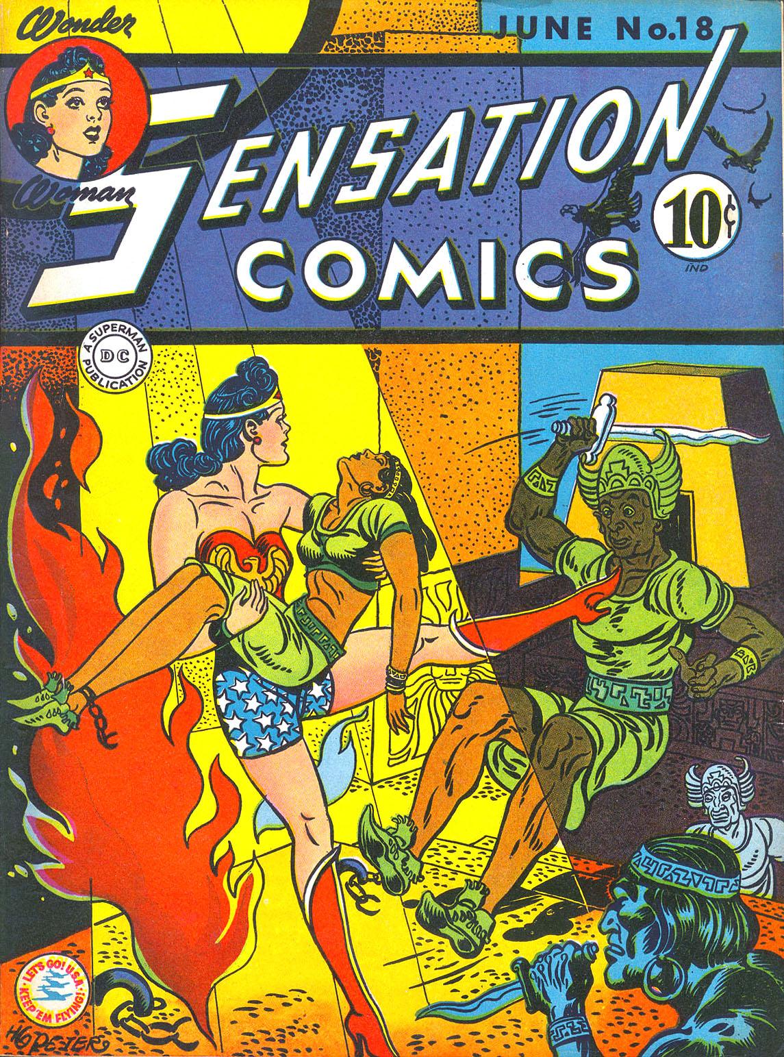 Sensation (Mystery) Comics 18 Page 1