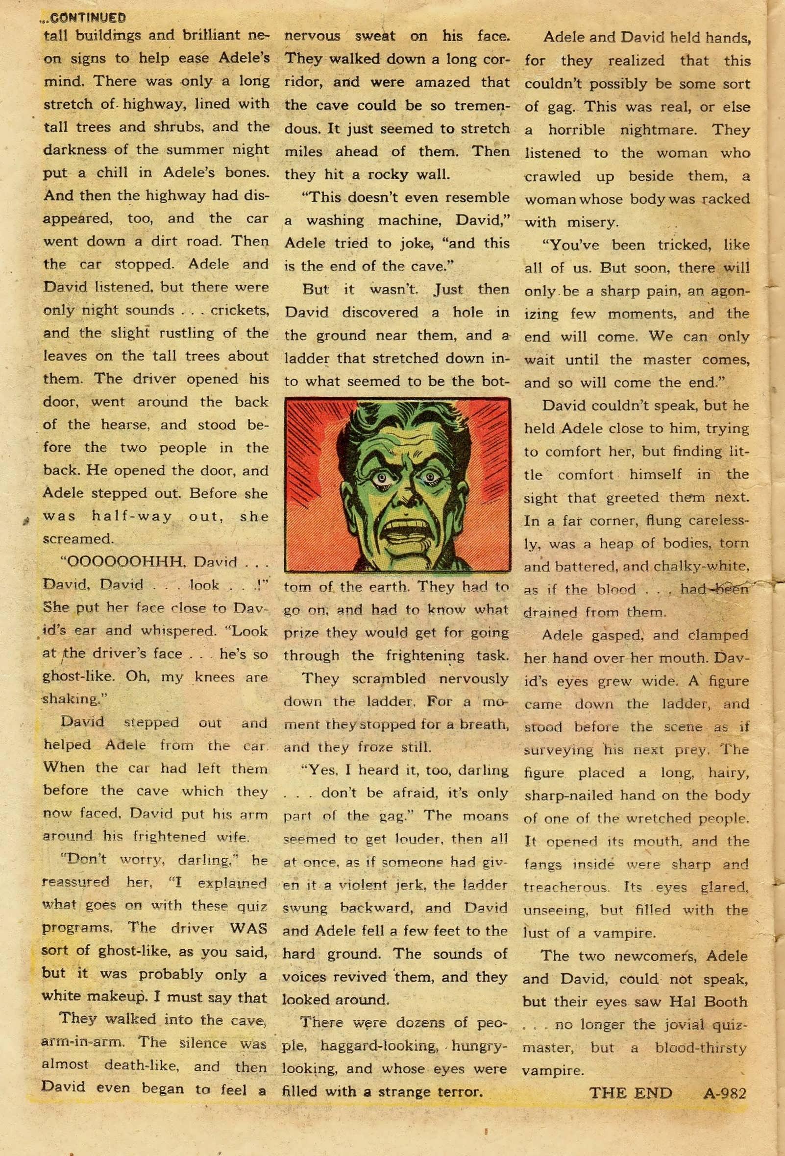 Read online Adventures into Weird Worlds comic -  Issue #11 - 22