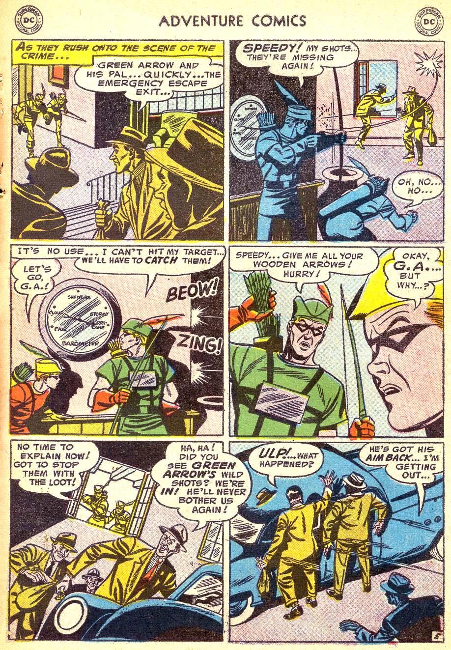 Read online Adventure Comics (1938) comic -  Issue #218 - 31