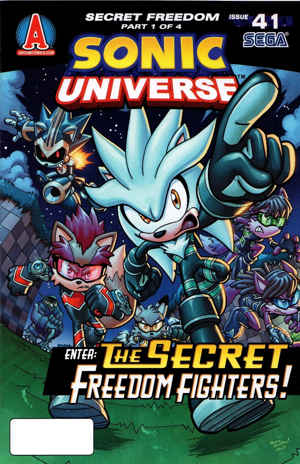 Read online Sonic Universe comic -  Issue #41 - 1