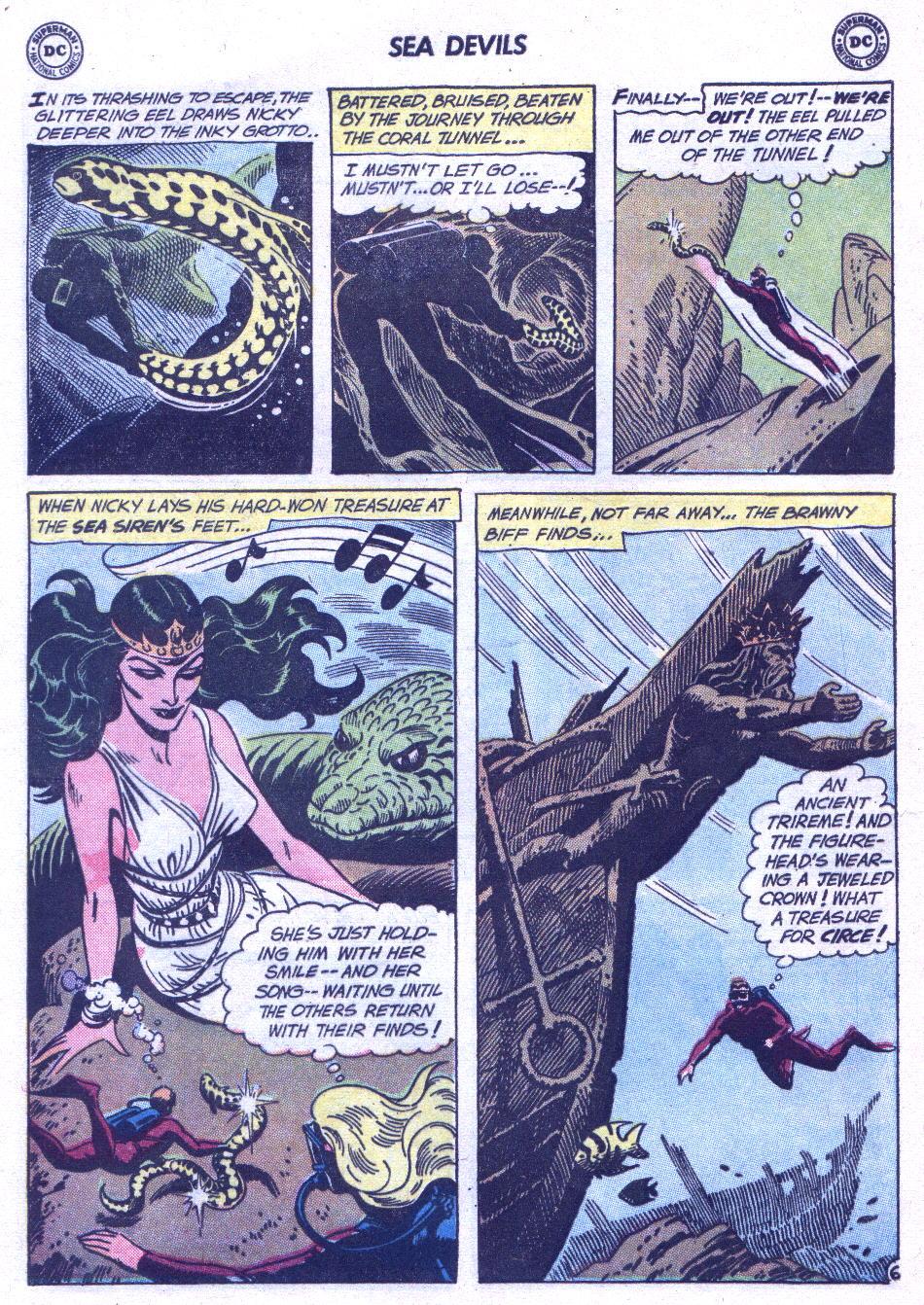 Read online Sea Devils comic -  Issue #3 - 25