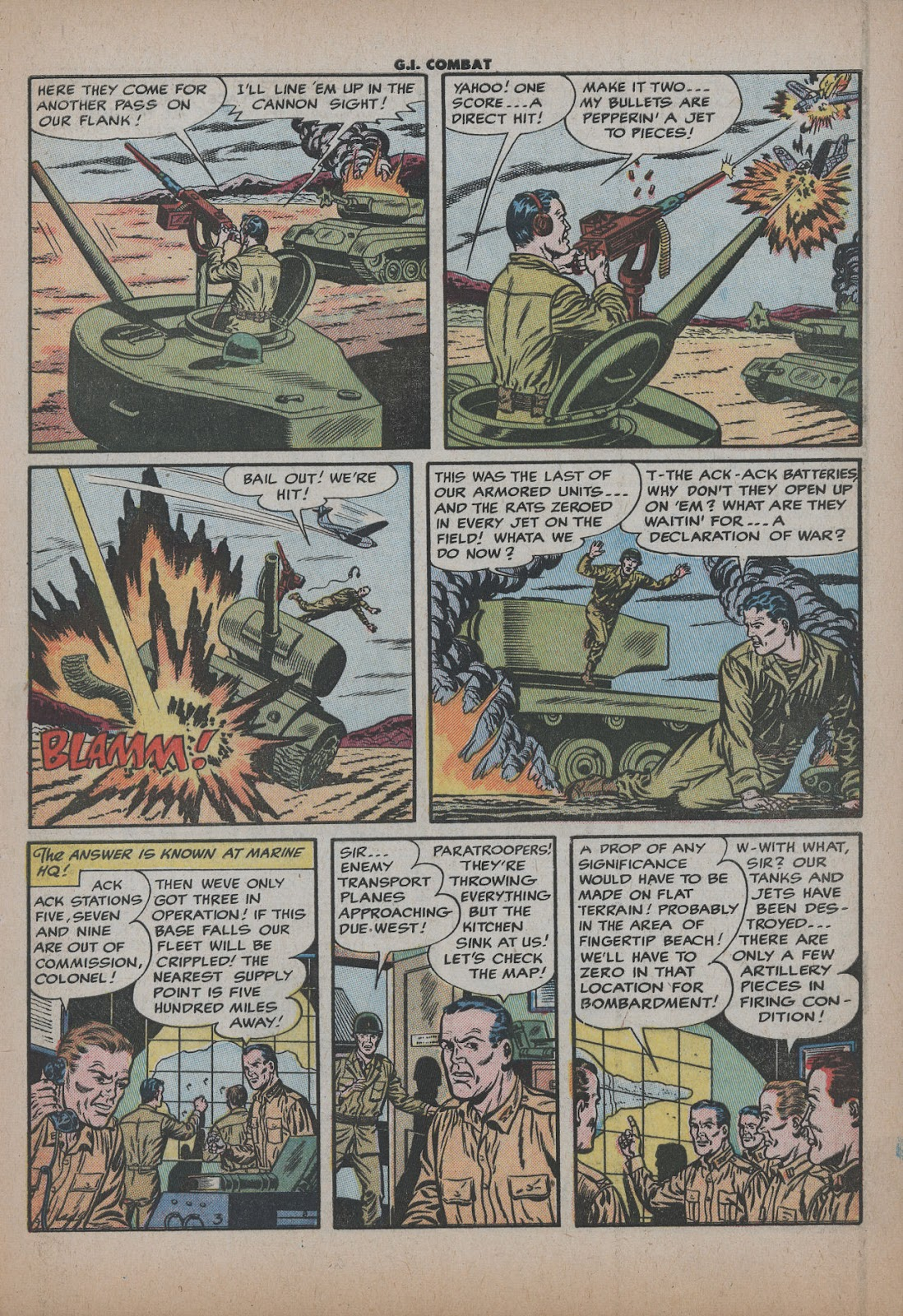 G.I. Combat (1952) issue 26 - Page 5