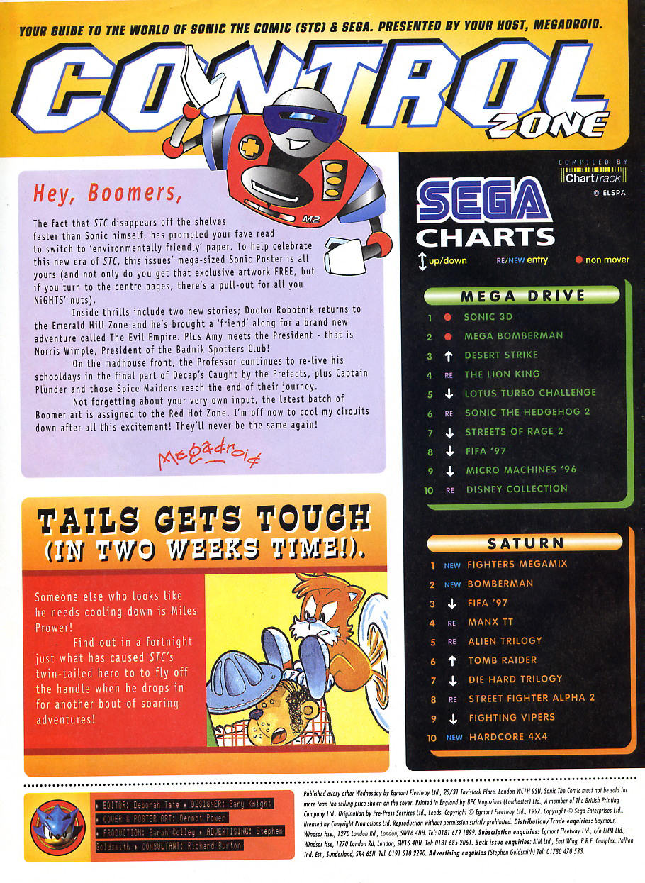 Read online Sonic the Comic comic -  Issue #108 - 2