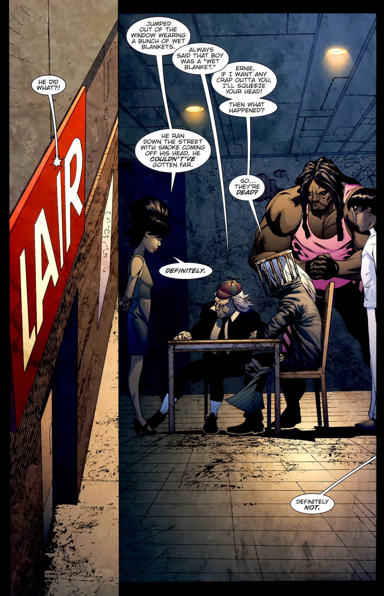 Read online Dead Romeo comic -  Issue #4 - 11