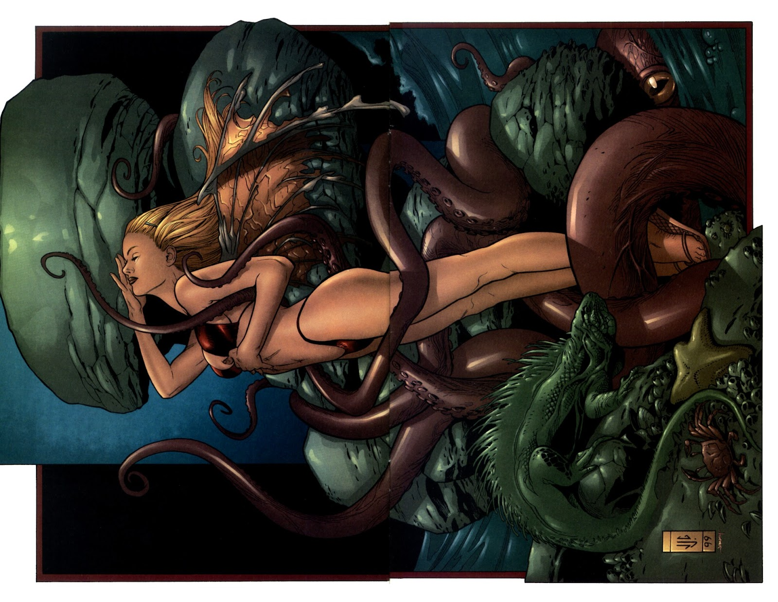 Read online Darkchylde Summer Swimsuit Spectacular comic -  Issue # Full - 7