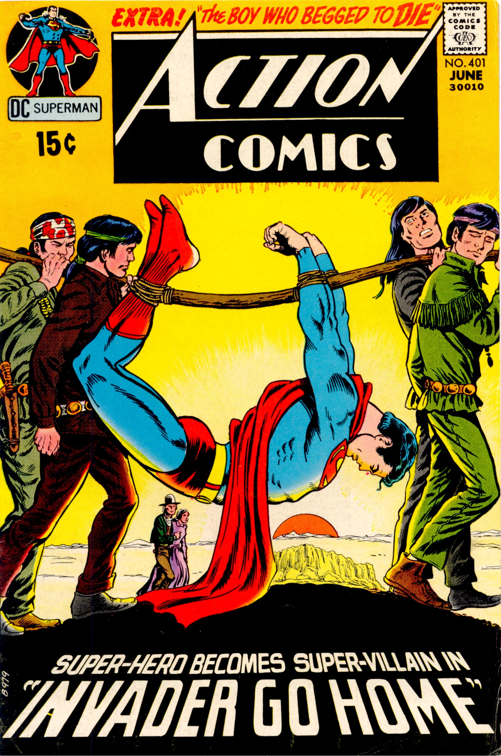 Read online Action Comics (1938) comic -  Issue #401 - 1