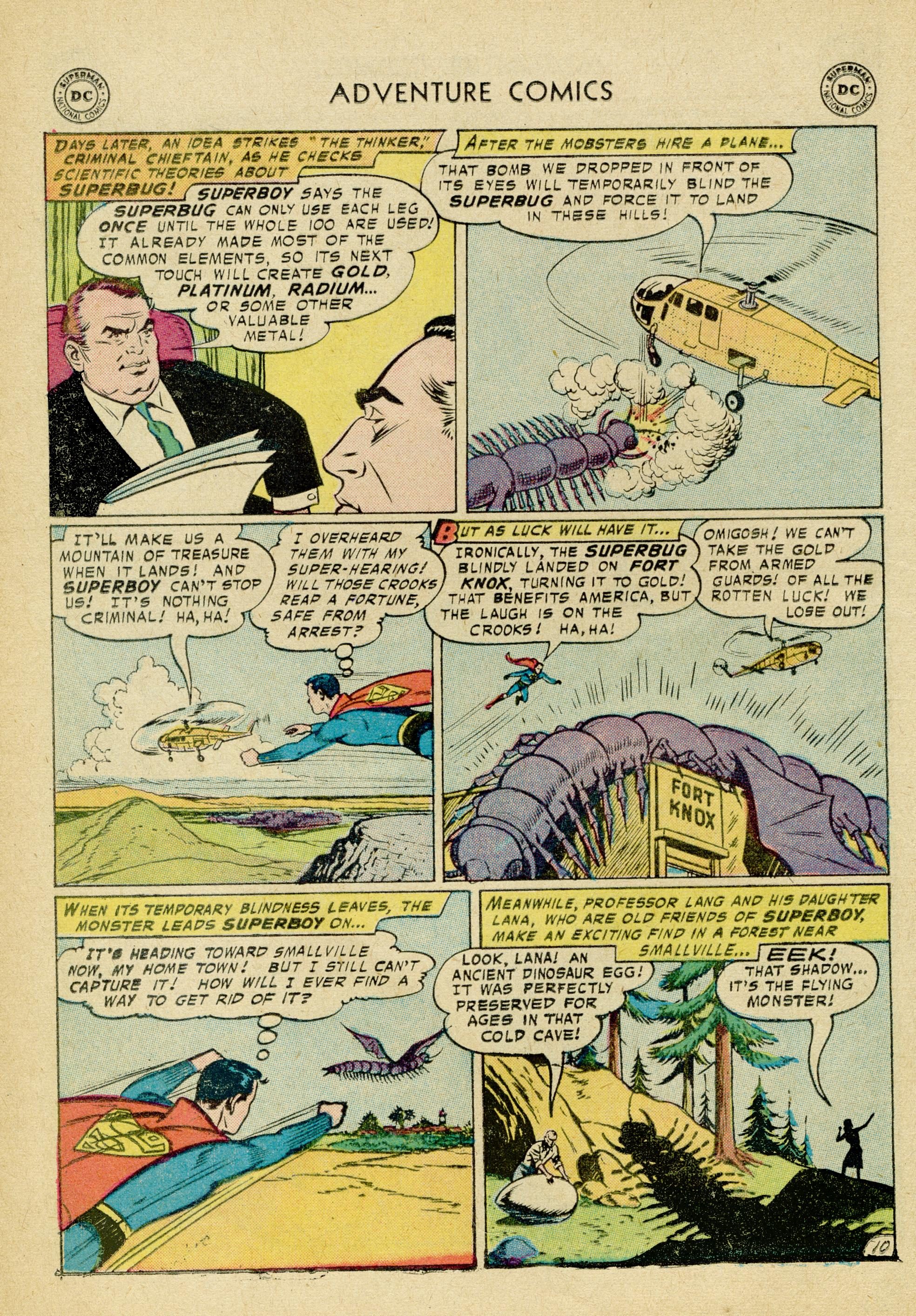 Read online Adventure Comics (1938) comic -  Issue #245 - 12