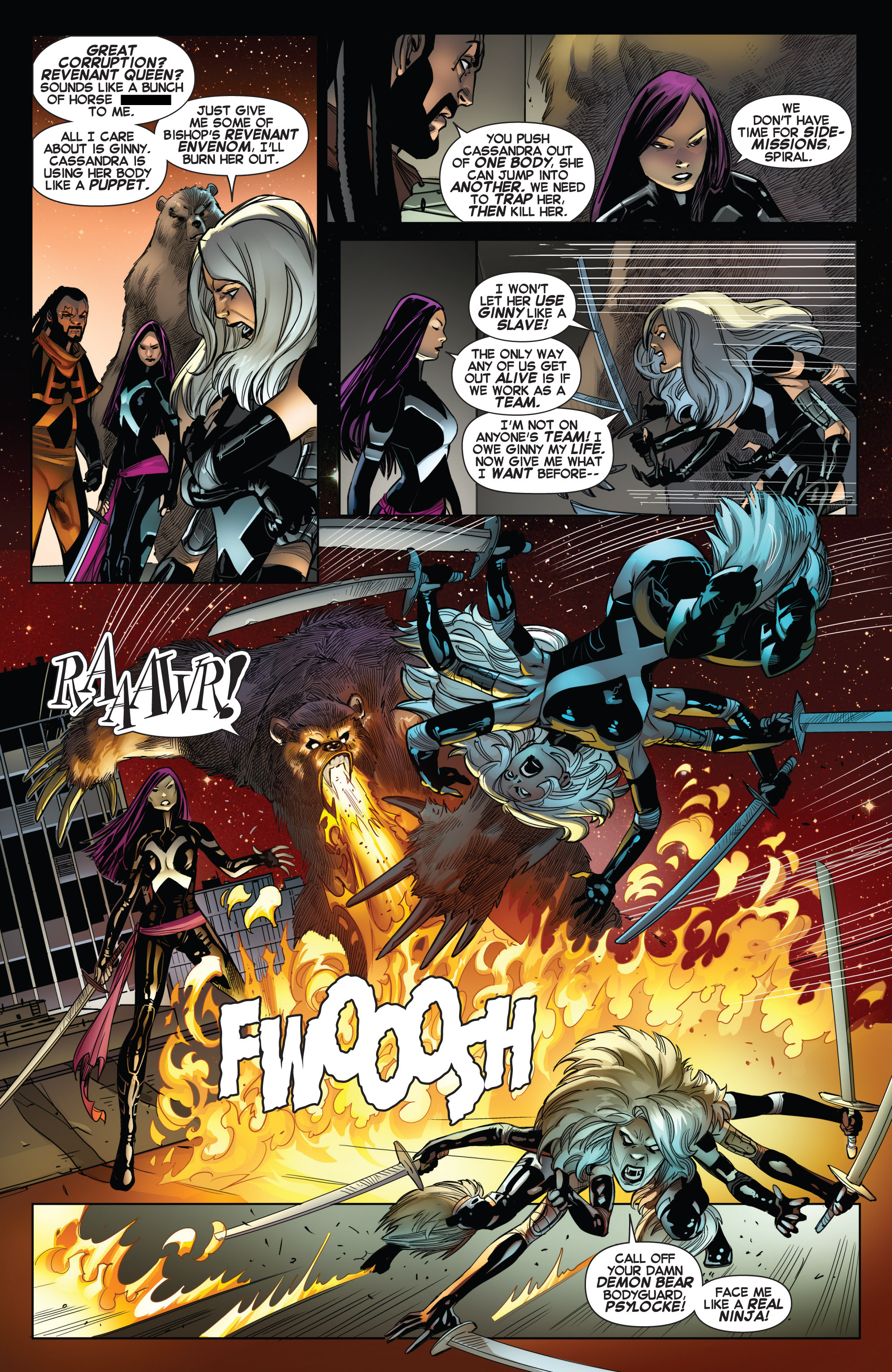 Read online Uncanny X-Force (2013) comic -  Issue #13 - 11