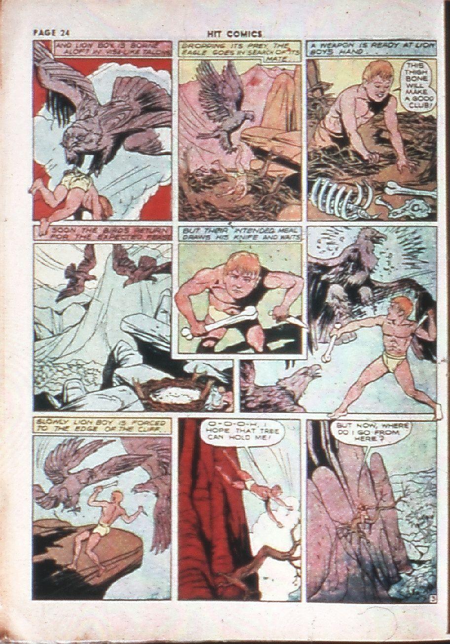 Read online Hit Comics comic -  Issue #10 - 26