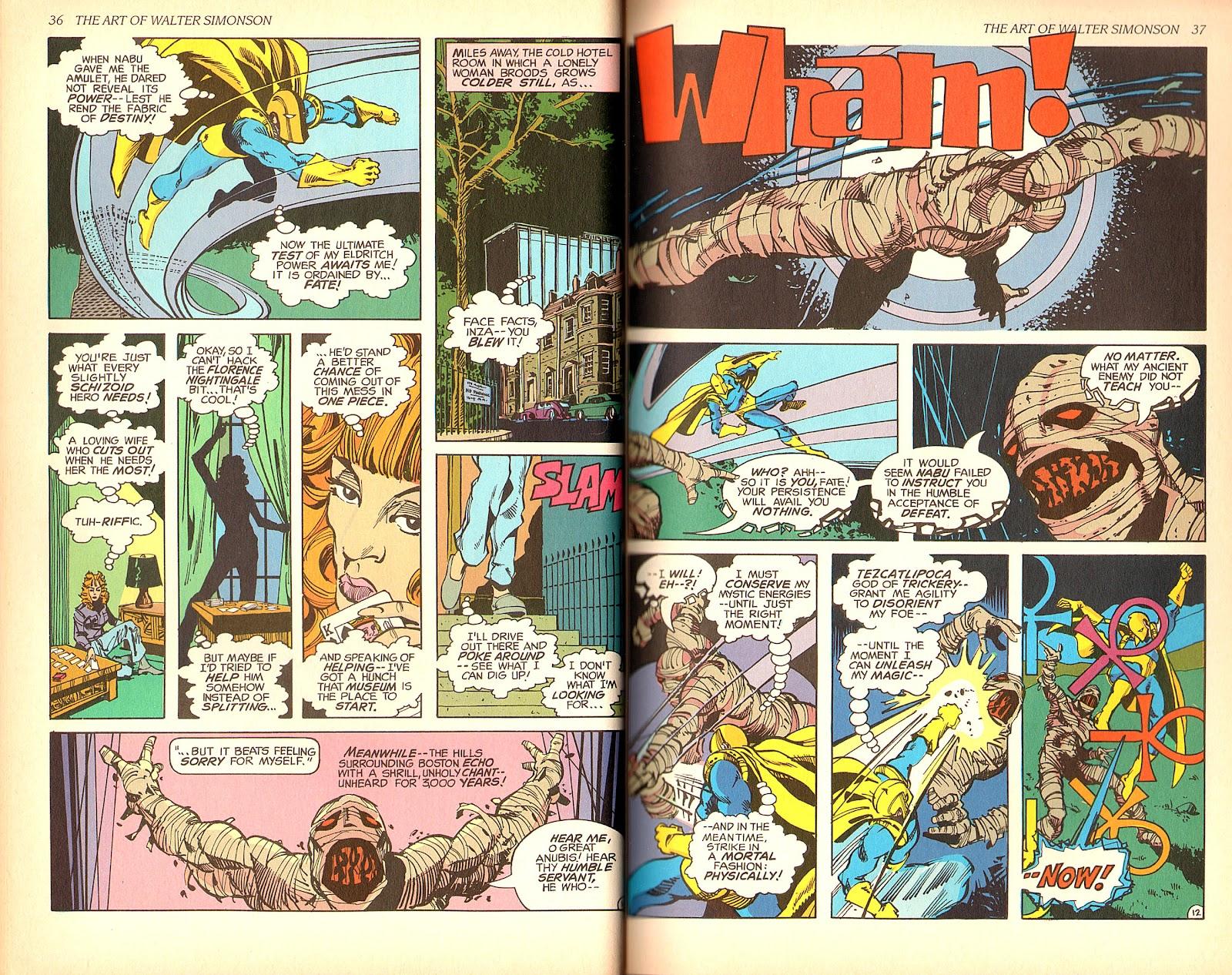 Read online The Art of Walter Simonson comic -  Issue # TPB - 20
