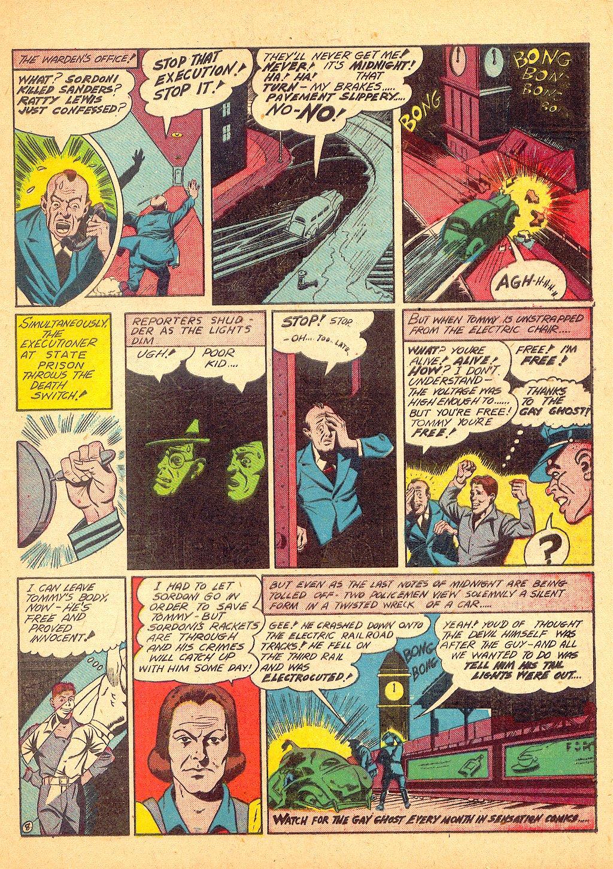 Read online Sensation (Mystery) Comics comic -  Issue #25 - 39