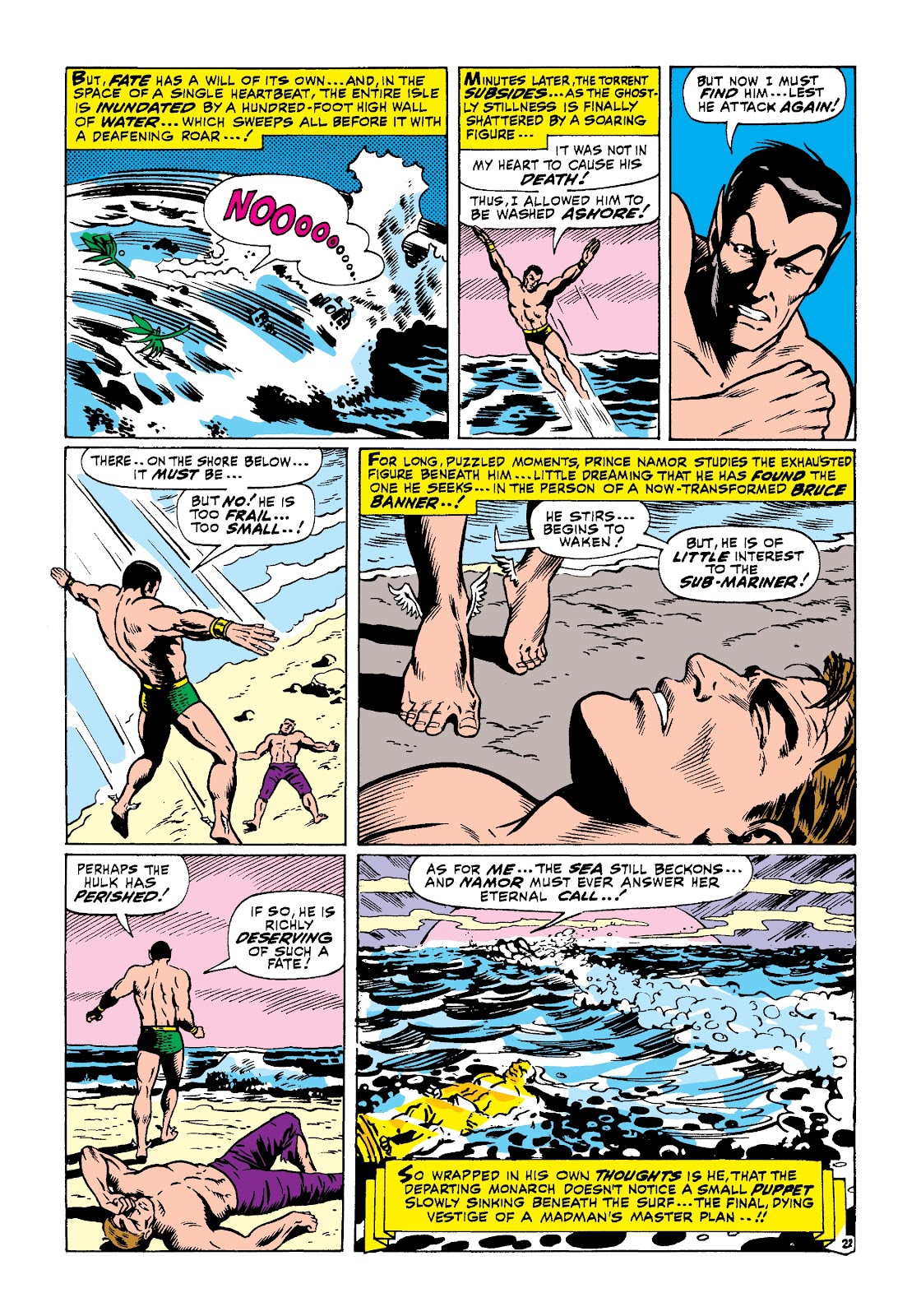 Read online Marvel Masterworks: The Incredible Hulk comic -  Issue # TPB 3 (Part 3) - 50
