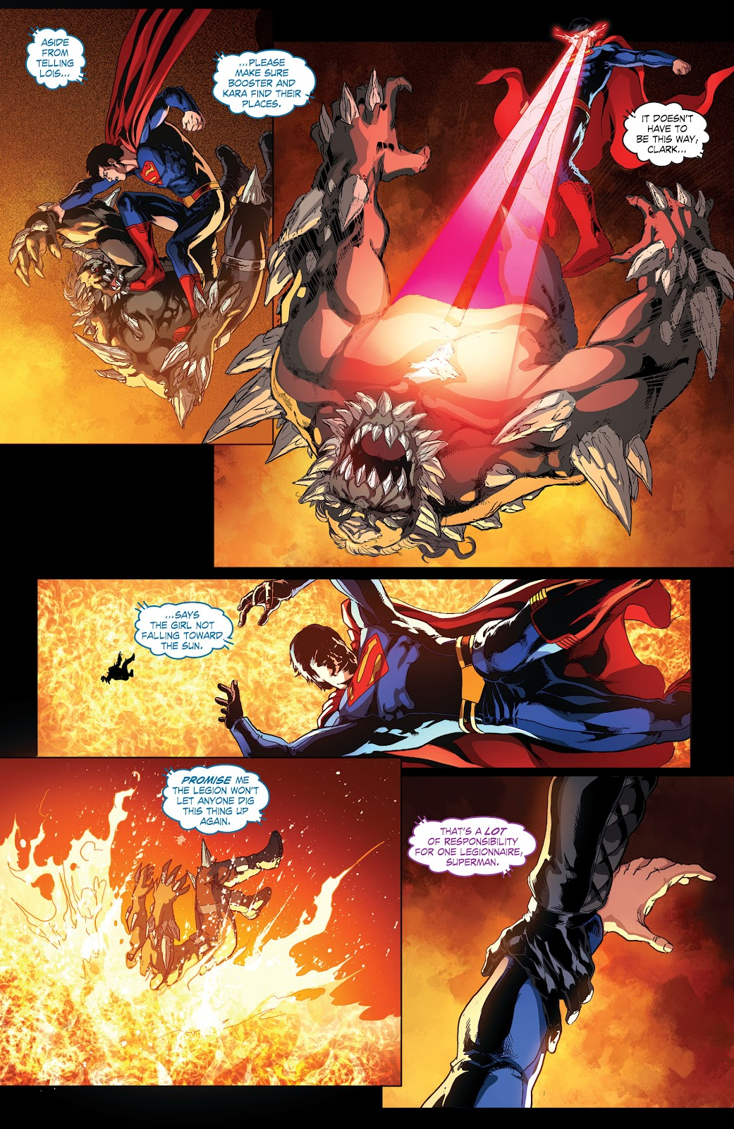 Read online Smallville Season 11 [II] comic -  Issue # TPB 4 - 95