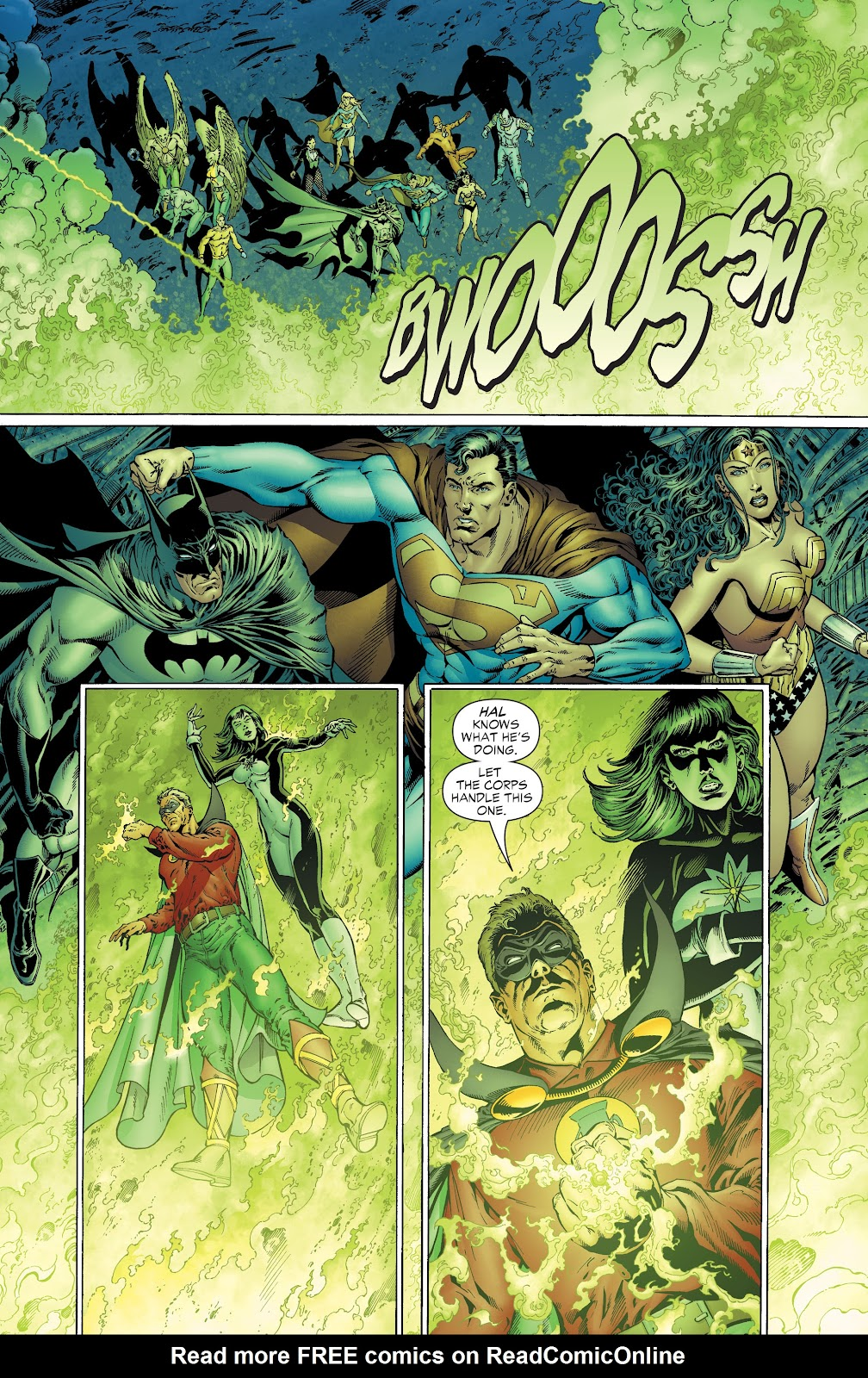 Read online Green Lantern by Geoff Johns comic -  Issue # TPB 1 (Part 2) - 37