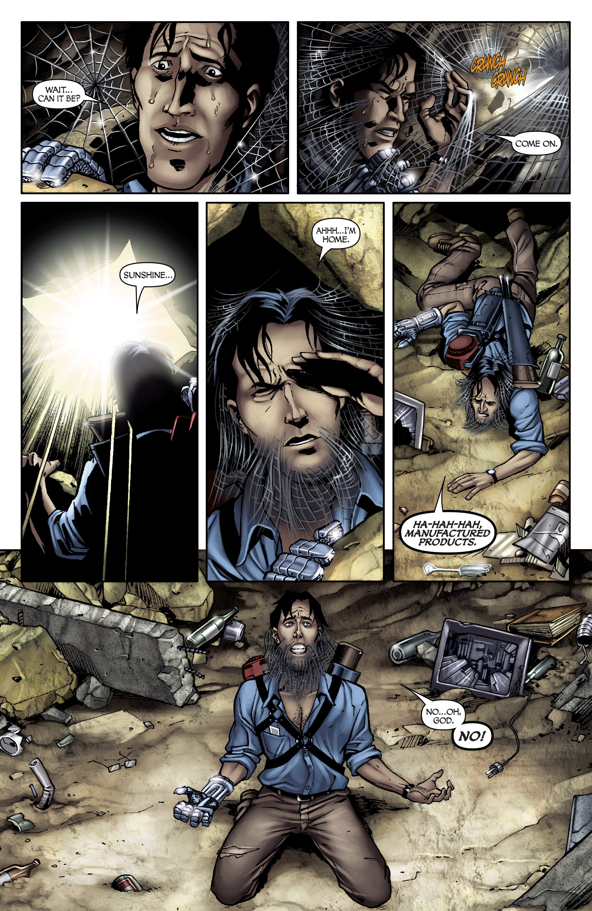 Read online Army of Darkness: From the Ashes comic -  Issue #Army of Darkness: From the Ashes TPB - 11