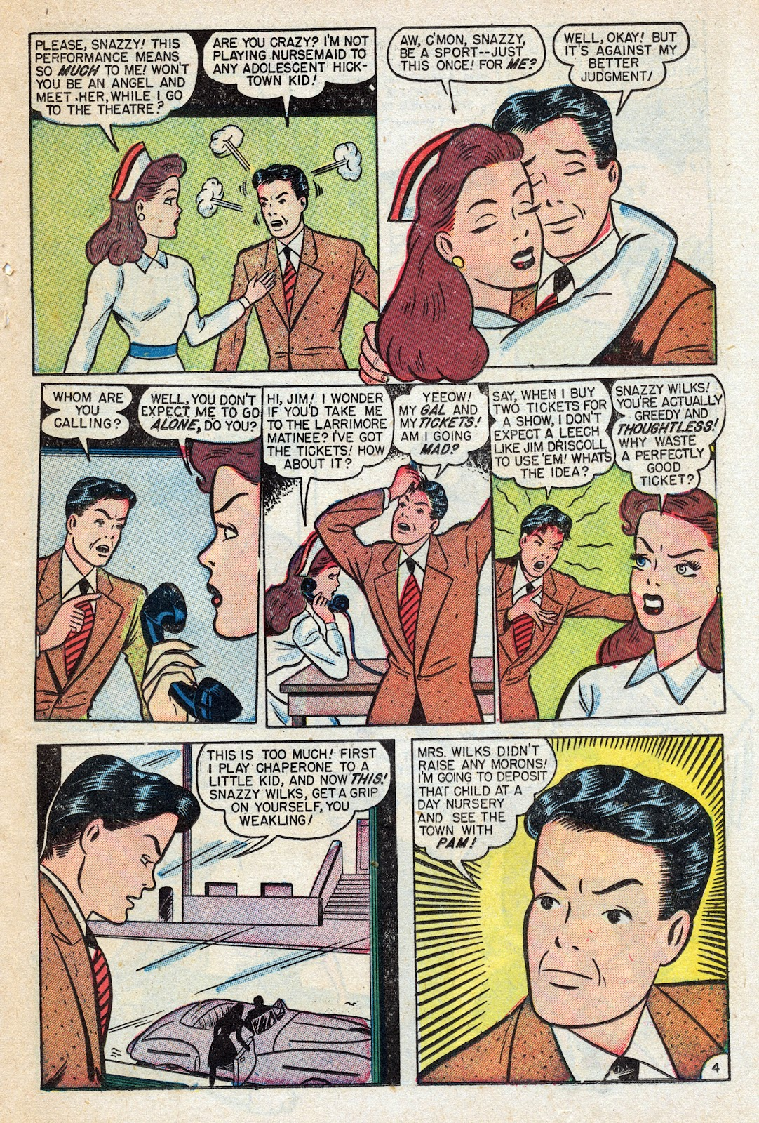 Read online Nellie The Nurse (1945) comic -  Issue #17 - 31