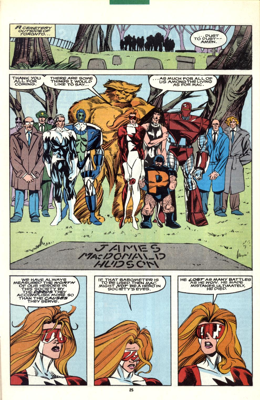Read online Alpha Flight (1983) comic -  Issue #101 - 20