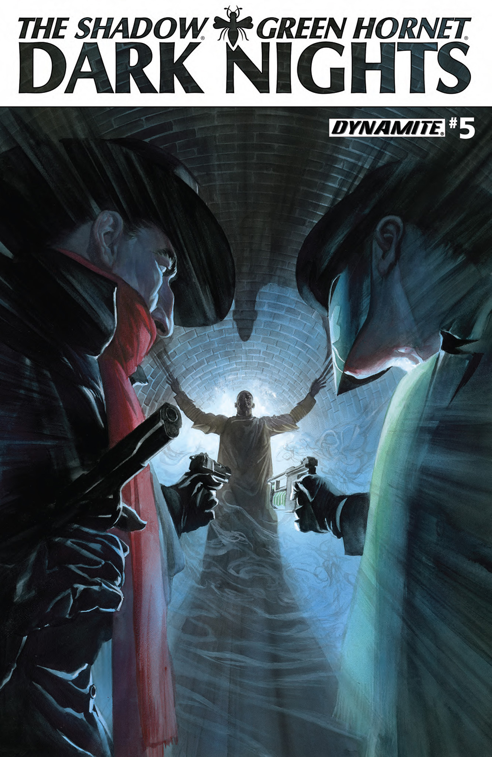 The Shadow/Green Hornet: Dark Nights 5 Page 1