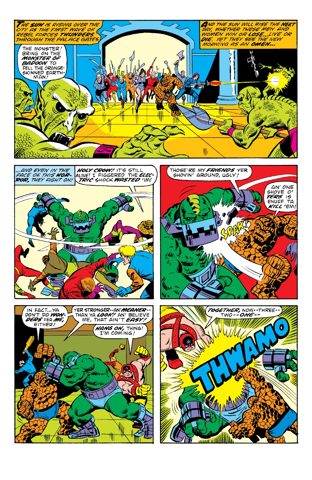 Read online Marvel Two-In-One Epic Collection: Cry Monster comic -  Issue # TPB (Part 2) - 39