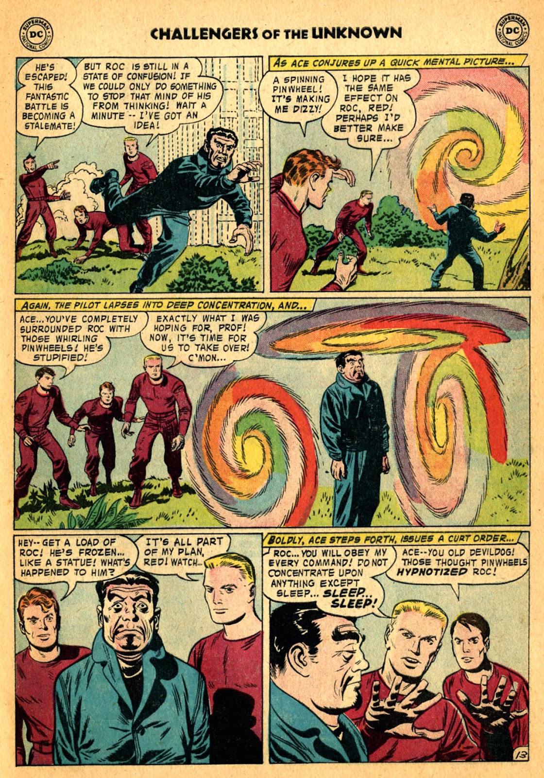 Challengers of the Unknown (1958) issue 2 - Page 29