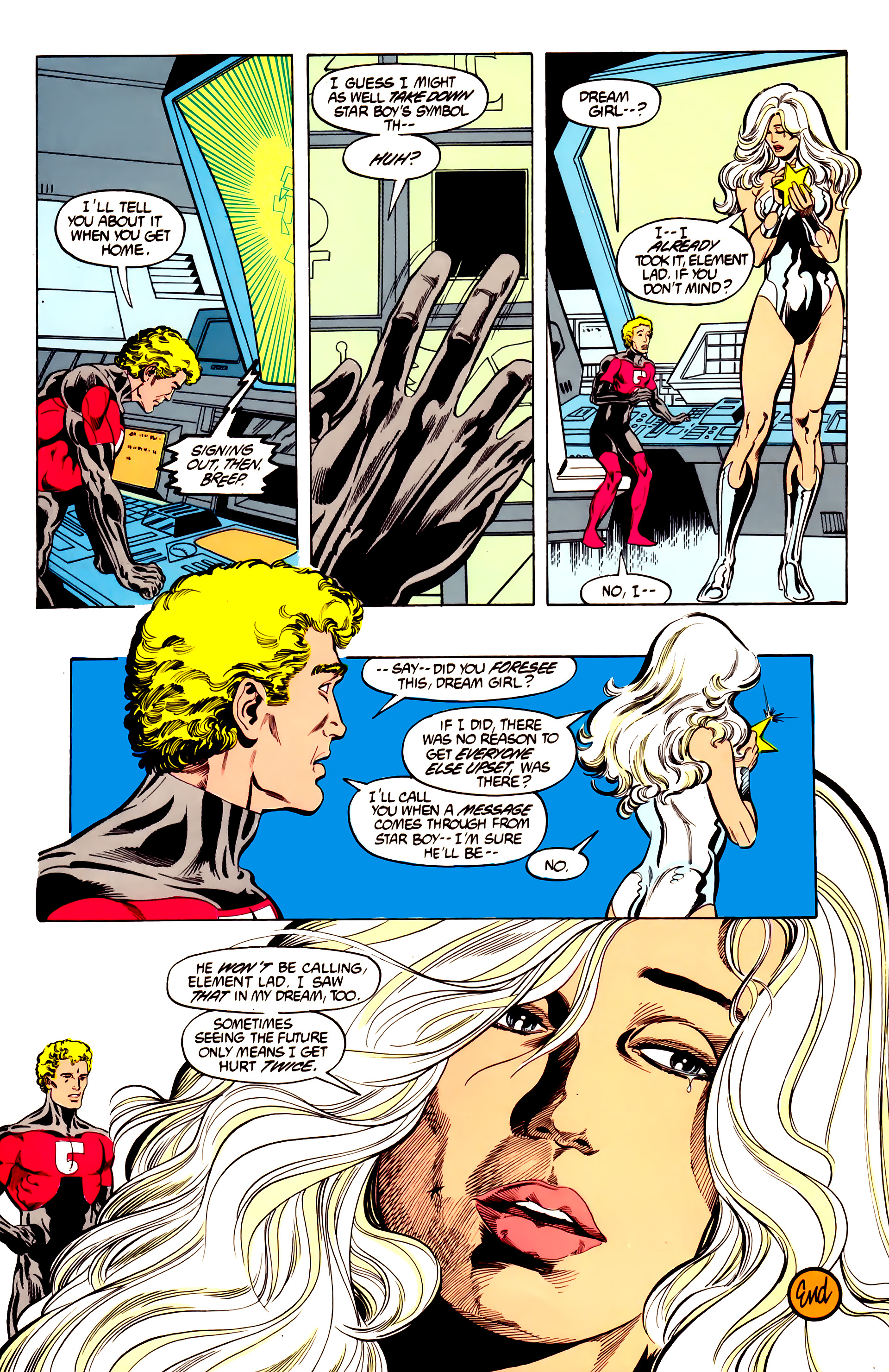 Legion of Super-Heroes (1984) 28 Page 29