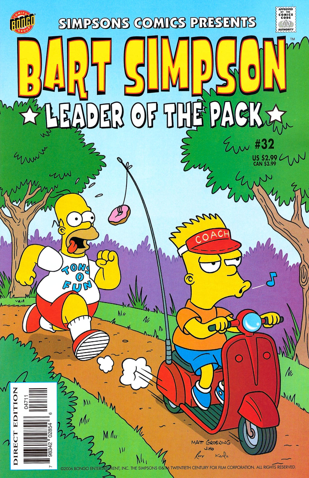 Simpsons Comics Presents Bart Simpson 32 Page 1