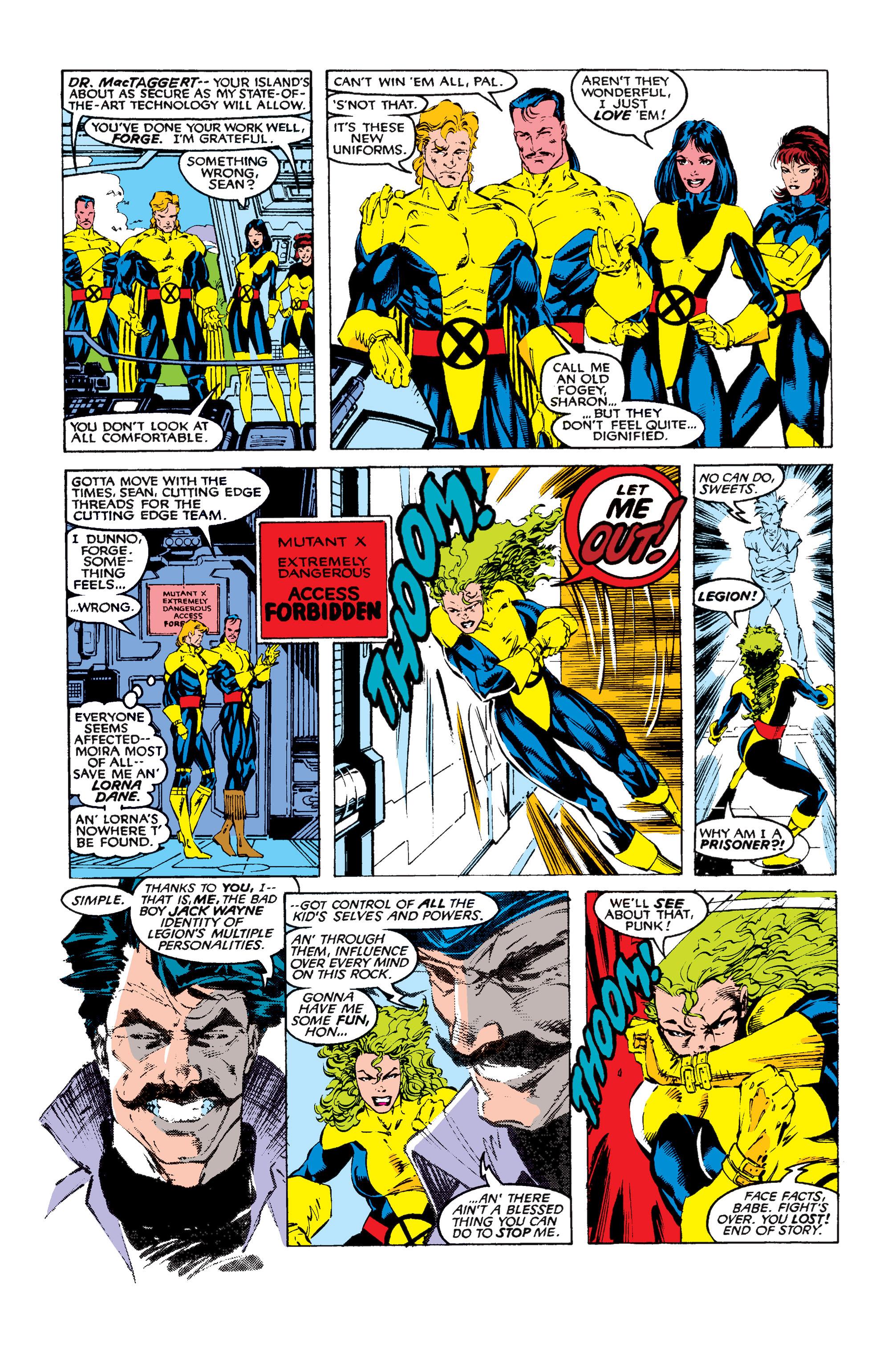 Read online Uncanny X-Men (1963) comic -  Issue #258 - 12