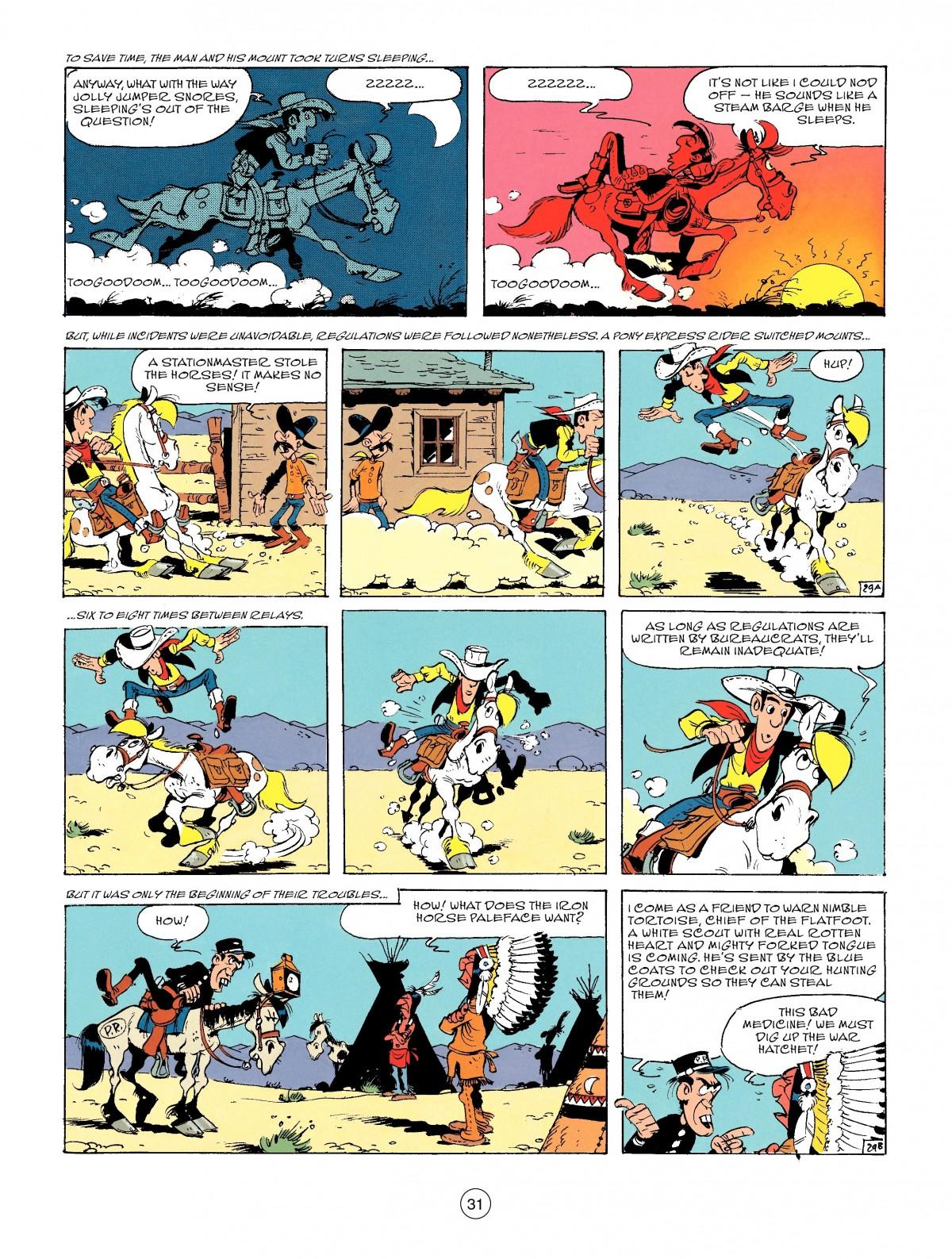 Read online A Lucky Luke Adventure comic -  Issue #46 - 31