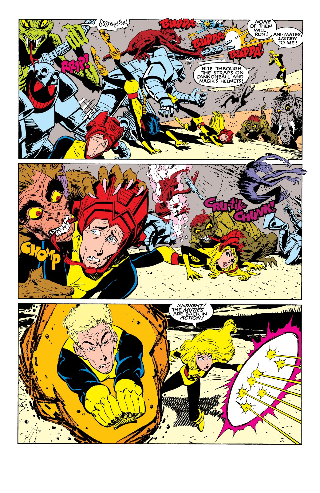 Read online X-Men Milestones: Fall of the Mutants comic -  Issue # TPB (Part 2) - 45